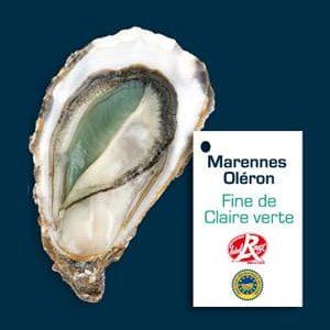 Huître Fine « Perle Verte » Label rouge